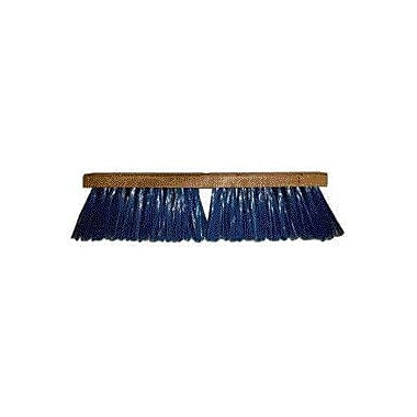 Hamburg Industries Heavy Duty Push Broom; 24''