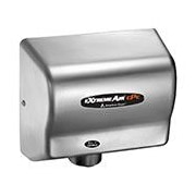 eXtremeAir Adjustable High Speed 100 - 240 Volt Hand Dryer in Stainless Steel