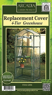 Arcadia Garden Products Mini Greenhouse Replacement Cover;
