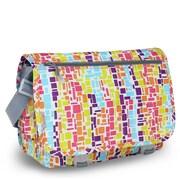 J World Terry Campus Messenger Bag; Neon