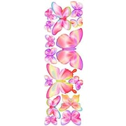 4 Walls Unique Peel and Stick Fluttering Butterfly Accents Wall Decal; Springtime Pink