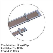 Marsh .5Map Rail Accessories - Combination Hook/Clip (Set of 4); 1''