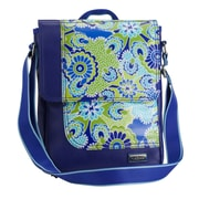 Hadaki On The Run Messenger Bag; Cobalt