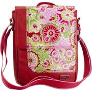 Hadaki On The Run Messenger Bag; Ruby