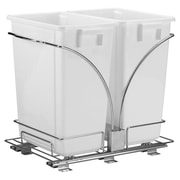 Household Essentials Glidez 9-Gal Double Waste Can Storage Caddy