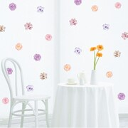Walls Need Love Decorative Flowers Mini-Pack Wall Decal