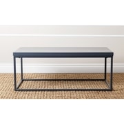 Abbyson Living Coffee Table; Blue