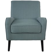 Fox Hill Trading Munroe Arm Chair; Turquoise