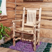 Montana Woodworks  Montana Arm Chair; Ready To Finish