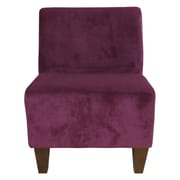 Fox Hill Trading Penelope Slipper Side Chair; Wine Red