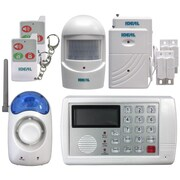Ideal Security 7 Piece Home Security Alarm System Set
