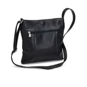 Le Donne Leather Derosa Crossbody Bag; Black