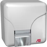 American Specialties Surface Mounted 120 Volt Sensor Hand and Face Dryer in White