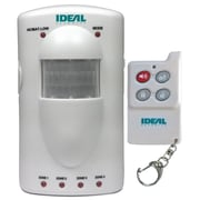 Ideal Security Portable Motion Sensor 4 Zone Alarm with Remote