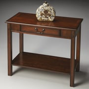 Butler Sheridan Console Table; Cherry
