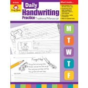 "Evan Moor Educational Publishers ""Daily Handwriting Practice: Traditional Manuscript for Grades K-6"" (790)"
