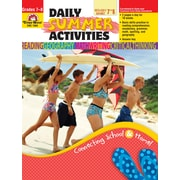 Evan-Moor Educational Publishers Daily Summer Activities: Moving from 7th to 8th Grade for Grades 7-8 (1068)