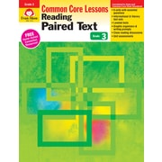 Evan-Moor Educational Publishers Reading Paired Text: Common Core Lessons for Grade 3 (1373)