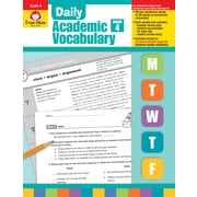 Evan-Moor Educational Publishers Daily Academic Vocabulary for Grade 4, Each (2760)