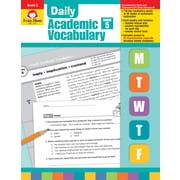 Evan-Moor Educational Publishers Daily Academic Vocabulary for Grade 5 (2761)