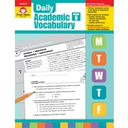 "Evan-Moor Educational Publishers ""Daily Academic Vocabulary for Grade 6"" (2762)"