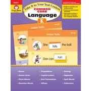 Evan-Moor Educational Publishers Take It to Your Seat Centers: Common Core Language Grade K Edition 1 (2870)