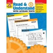 Evan-Moor Educational Publishers Read and Understand with Leveled Texts for Grade 1 (3441)