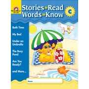 "Evan-Moor Educational Publishers ""Stories to Read, Words to Know: Level C for Grades K-1"" (3468)"