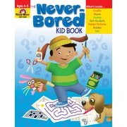 Evan-Moor Educational Publishers Never-Bored Kid Book for Grades PreK-K (6300)