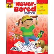 Evan-Moor Educational Publishers Never-Bored Kid Book for Grades 1-2 (6301)