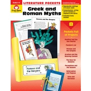 Evan-Moor Educational Publishers Literature Pockets: Greek & Roman Myths Grades 4-6+ Ed. 1 Paperback (2734)