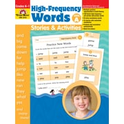 Evan-Moor Educational Publishers High Frequency Words: Stories and Activities Level A for Grades K-1 (3377)