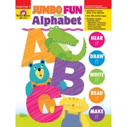 Evan-Moor Educational Publishers Jumbo Fun with the Alphabet Grades PreK-K Edition 1 Paperback (2413)