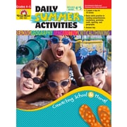 Evan-Moor Educational Publishers Daily Summer Activities: Moving from 4th to 5th Grade for Grades 4-5 (1031)