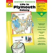Evan-Moor Educational Publishers History Pockets: Life in Plymouth Colony Grades 1-3 (3700)