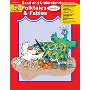 Evan-Moor Educational Publishers Read and Understand Literature Genres: Folktales and Fables for Grades 2-3 (757)