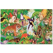 "Melissa & Doug Rainforest 48-Piece Floor Puzzle 12"" x 9.5"" x 3"" (418)"