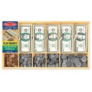 Melissa & Doug Play Money Set, 17.75 x 10.25 x 1.25 (1273)