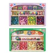 """Melissa & Doug Butterfly & Flower Power Jewelry Bundle, 9.8"""" x 6.3"""" x 2.4"""", (2022)"""