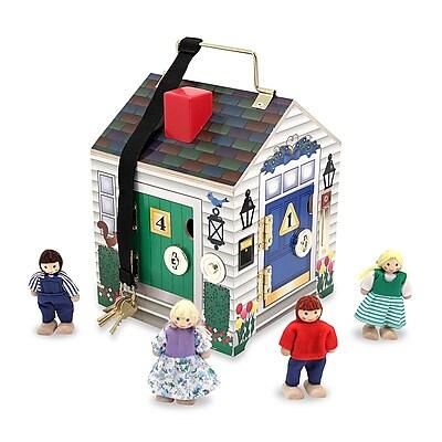 """""""""""Melissa & Doug Doorbell House, 10"""""""""""""""" x 7.5"""""""""""""""" x 7.2"""""""""""""""", (2505)"""""""""""" 1904312"""