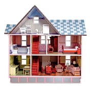 "Melissa & Doug Victorian Dollhouse, 28"" x 18"" x 11.5"", (2580)"
