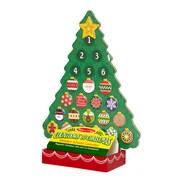 Melissa & Doug Countdown to Christmas Wooden Advent Calendar, 16 x 12 x 4.9 (3571)
