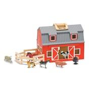 """Melissa & Doug Fold & Go Barn 13.5"""" x 10.65"""" x 7.9"""" (3700)"""