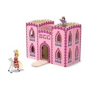 "Melissa & Doug Fold & Go Princess Castle, 13.5"" x 10.5"" x 7.3"", (3708)"