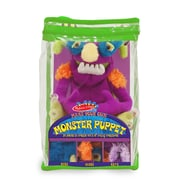 "Melissa & Doug Make-Your-Own Monster Puppet,13.8"" x 7.5"" x 7.5"", (3897)"