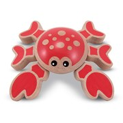 Melissa & Doug Twisting Crab, Smooth, Bright Colors (4038)