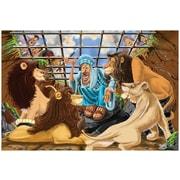 Melissa & Doug Daniel & The Lion's Den Floor Puzzle, 12 x 9.5 x 3 (4496)
