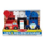 Lock & Roll Rescue Garage,10 x 7.75 x 6.25,(4580)