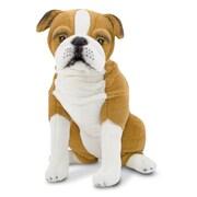 """Melissa & Doug English Bulldog - Plush, 19"""" x 18.9"""" x 10.25"""", (4865)"""