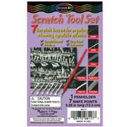 Melissa & Doug Scratch Knife Tool Set, Versatile, 8pc (8117)